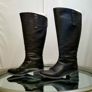 Franco Sarto wide calf Becky leather boots 8.5
